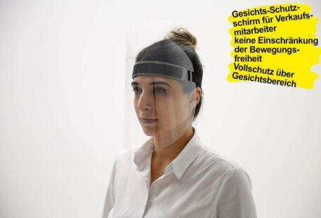 Schutzschirm Gesicht PROTECTION