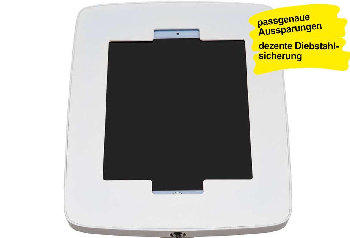 Tablet Bodenständer COMPARE - Aussparungen