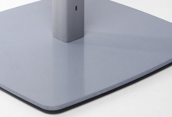 Tablet Bodenständer höhenverstellbar SPICY - Bodenplatte