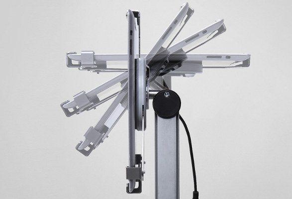 Tablet Bodenständer höhenverstellbar SPICY drehbar