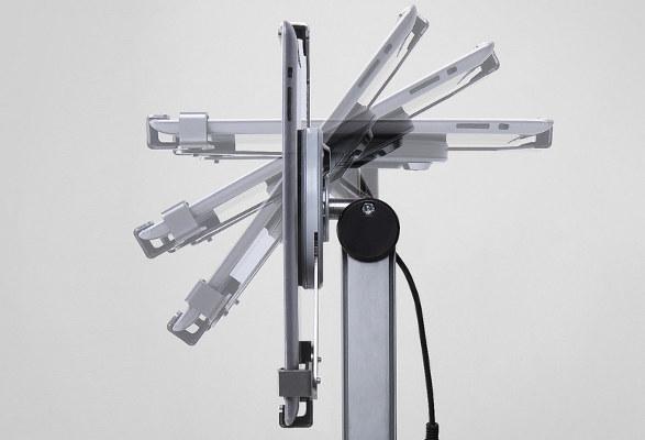 Tablet Bodenständer höhenverstellbar SPICY - drehbar