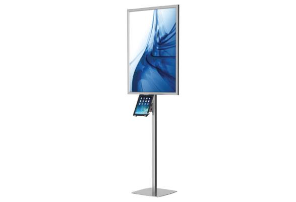 Tablet Bodenständer & LED Plakathalter OBSERVABLE