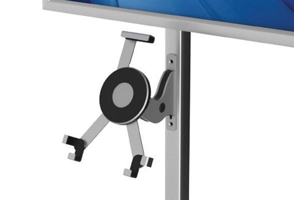 Tablet Bodenständer & LED Plakathalter OBSERVABLE - Greifarme