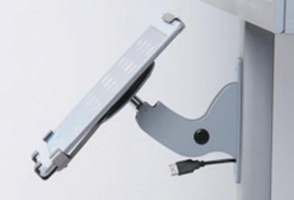 Tablet Bodenständer & LED Plakathalter OBSERVABLE - Tabletkonsole