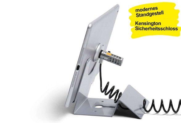 Tablet Tischständer abschließbar KEY - Gestell