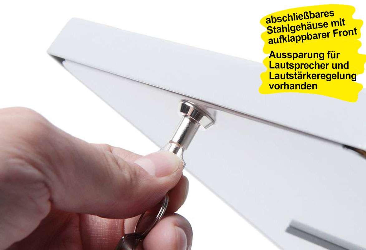 Tablet Tischständer COLORED - Stahlgehäuse