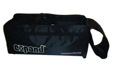 Textilfaltwand Expand MediaFabric Tragetasche