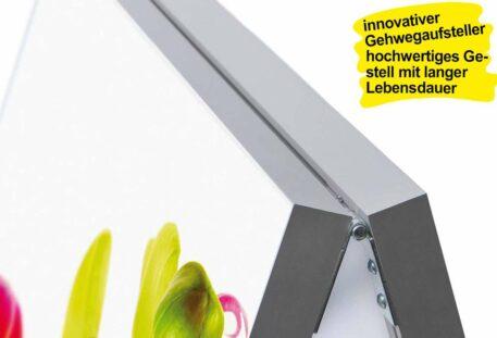 Textilspannrahmen Kundenstopper OLYMP - Gestell