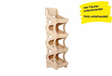 Verkaufsregal Holz SUEZ - S