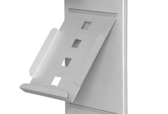 Wandprospekthalter A4 SLIM - Prospektfach