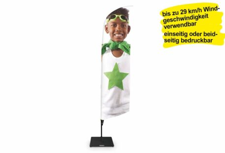 Werbefahne FEATHER - Promotion