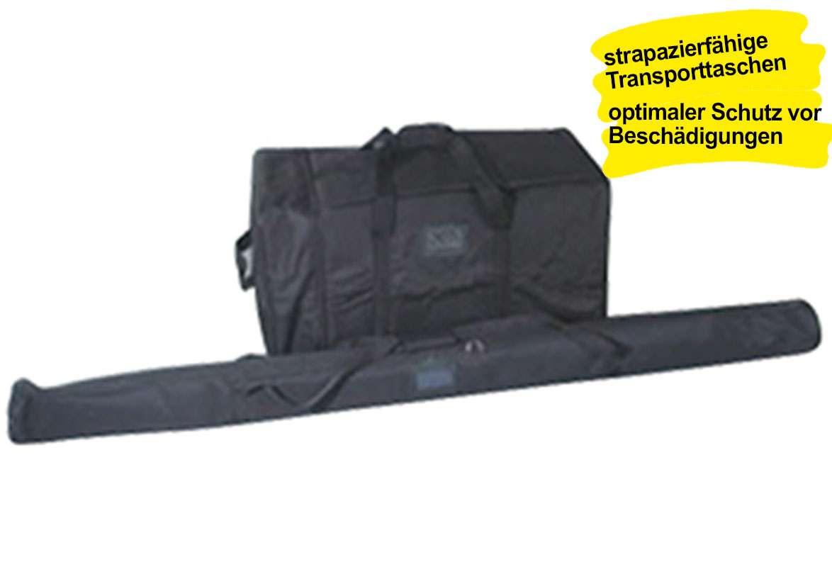 Werbefahne WHALE – Transporttaschen